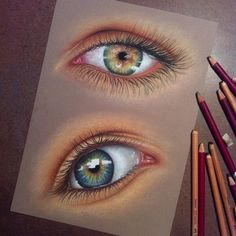 Unknown artist  amazing art #prismacolor