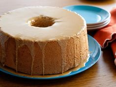 Coffe Angel Food Cake. Low cal and delicious....