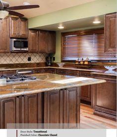 Ju0026K Wholesale Kitchen Cabinets In Phoenix Chocolate Glazed