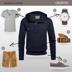 #BasicLook si la temperatura baja centrá tu outfit con este buzo friza ¡Acompañalo con accesorios de moda!