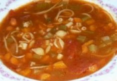 Recipe: Old fashioned vegetable soup. Canadian Food, Canadian Recipes, Veg Soup, Soup Recipes, Healthy Recipes, Vegetable Salad, Cooking With Kids, Vegan Dinners, Food To Make