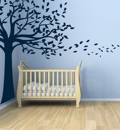 Leafy Shade Tree wall decal sticker