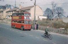 Anerley Hill, Penge in 1959 London History, Local History, London Bus, Old London, Bus Coach, London Transport, Old Photographs, Diesel Locomotive, South London