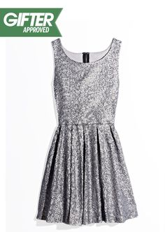 Glitzy party dresses are a must for the holidays. #TheGifter #Marshalls