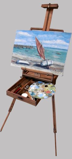 materiel arts plastiques on pinterest easels art easel and wooden jewelry boxes. Black Bedroom Furniture Sets. Home Design Ideas