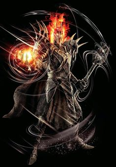Sauron, the second Dark Lord Hobbit Art, O Hobbit, Thranduil, Lord Of The Rings Tattoo, John Howe, Morgoth, Fanart, Jrr Tolkien, Dark Lord