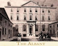 The Albany, featured in Tahir Shah's Regency novel Timbuctoo | www.timbuctoo-book.com