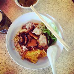 """@ngjiaxun's photo: """"Bak Chor Mee #foodporn #foodpwn"""""""
