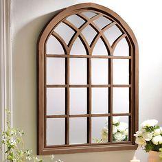 Natural Sadie Arch Mirror | Kirklands - use coupon