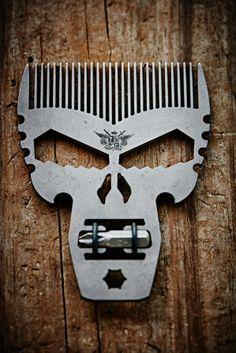 Punisher Comb Tool Titanium EDC