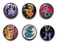 My Little Pony magnets or My Little Pony pins Twilight