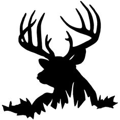 deer head decal 44 hunting decals fishing decals hunting sticker rh pinterest com hunting rifle clipart free hunting dog clipart free