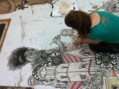 Swoon-street art