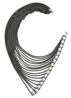 Melanie Georgacopoulos pearl necklace