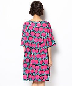 Bright print dress