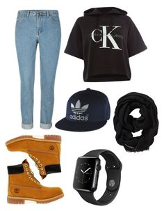 """Untitled #6"" by lana-lpr on Polyvore featuring Timberland, Calvin Klein, Old Navy and adidas"