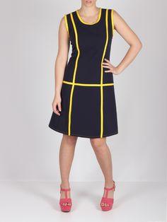 Vestido vivos amarillos #dress