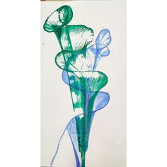 Green Art, Blue Green, Thread Painting, Drawings, Artist, Instagram, Duck Egg Blue, Artists, Sketches