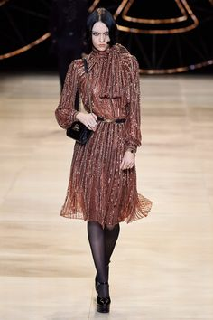 Celine Fall 2020 Ready-to-Wear Fashion Show - Vogue Fashion 2020, Fashion Week, Fashion Brands, High Fashion, Fashion Outfits, Night Outfits, Celine, Samuel Cirnansck, Dress Suits