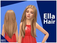#ts4_hair #ts4_maxis_match Los Sims 4 Mods, Sims 4 Body Mods, Sims 4 Game Mods, Maxis, Sims 4 Children, Children Hair, Hair Kids, Toddler Cc Sims 4, Pelo Sims