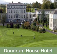 Dundrum House Hotel Golf & Leisure Resort is set on 200 acres of rolling countryside. Acre, Countryside, Golf Courses, House, Home, Homes, Houses