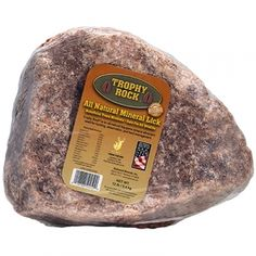 Trophy Rock All Natural Mineral Lick