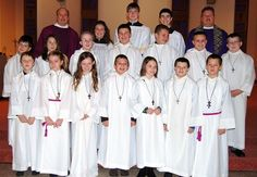 Q: What is the Church's position on the use of female altar servers? May all of the servers be female, or must at least one be male? Do you feel that the use of female altar servers detracts from t...