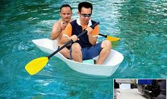 Boat is created using the world's biggest 3D printer #DailyMail