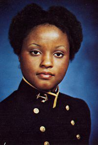 Janie L. Mines, is America's first black female graduate of the United States Naval Academy ( #USNA ). A graduate from the Class of  1980, she also served in the Senior Executive Service (SES), as Senior Advisor (Business Processes), Office of the Secretary of the Navy.