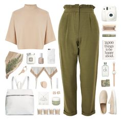 """280318"" by rosemarykate ❤ liked on Polyvore featuring Warehouse, Topshop, Gap, Vince Camuto, ULTA, Kara, MICHAEL Michael Kors, 3.1 Phillip Lim, Shabby Chic and Fuji"