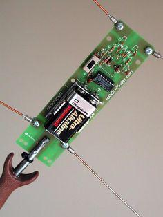 HANDI-Finder Radio Direction Finder Component Layout Ham Radio Kits, Mobile Ham Radio, Qrp, Ham Radio Antenna, Electronic Kits, Fox Hunting, Tech, Radio Frequency, Ham Radio