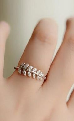 leaf fashion ring http://www.jewelsin.com/p-graceful-olive-branch-plated-women-fashion-ring-1115