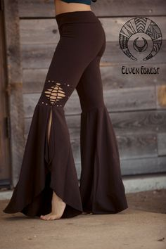 Braided Mermaid Pants - Bohemian hippie love by ElvenForest on Etsy