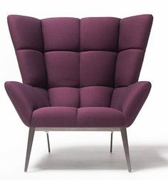 PURPLE ARMCHAIRS Colors Are A Wonderful Design Tool! Purple Evokes Luxury,  Majesty And Ambition
