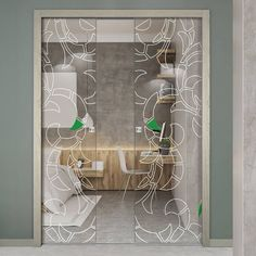 Eclisse Strige Murano Design on Clear or Satin Glass Syntesis Double Pocket Door Doors, Murano Glass, Glass Film Design, Glass, Pocket Doors, Door Design, Frame, Home Decor, Glass Pocket Doors