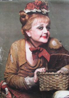Angela Lansbury as Mrs. Lovett in Sweeney Todd =) Could there be anything more amazing?  I THINK NOT!!