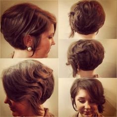 Salon Aquarius Knoxville, TN haircut by Jamie