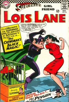 Superman's Girl Friend, Lois Lane #70 - Comic Book Cover