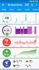 Notify & Fitness for Mi Band Apk 5 5 14   Android apps
