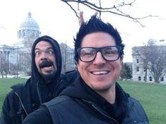 Zak Bagans and Aaron Goodwin Ghost Adventures   FUNNY! @AaronGoodwin @Zak_Bagans   MY GAC UNIVERSE