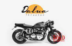 037c6326435e Dalua modelo triumph thruxton 900 Carb realizada por Tamarit Motorcycles.  Tamarit hace proyectos para triumph