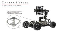wire rope isolators used in camera video application