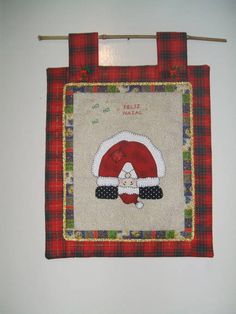 Patchwork Father Christmas
