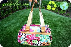Lily Bloom Bag. I love these purses. They are super cute and durable. The best part is they are made from recycled plastic bottles!