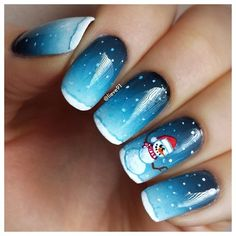 christmas by lieve91 #nail #nails #nailart