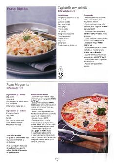 Revista bimby 11 Kitchen Time, Pasta, Yummy Appetizers, What To Cook, Cooking Tips, Nom Nom, Food And Drink, Menu, Yummy Food