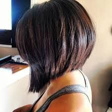 medium angled bob - Google Search