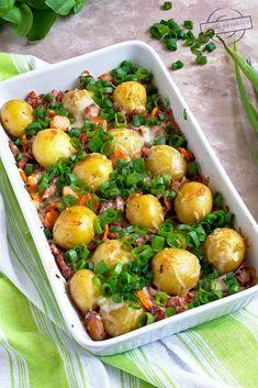 Mozzarella, Sprouts, Potato Salad, Potatoes, Vegetables, Ethnic Recipes, Kielbasa, Food, Potato