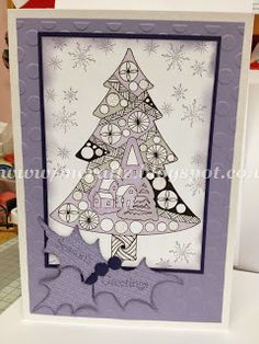MCRAFTZ: Zentangle Christmas Cards