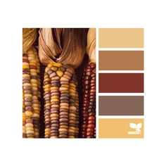harvested hues ❤ liked on Polyvore featuring design seeds, backgrounds, colors, color palettes and palettes